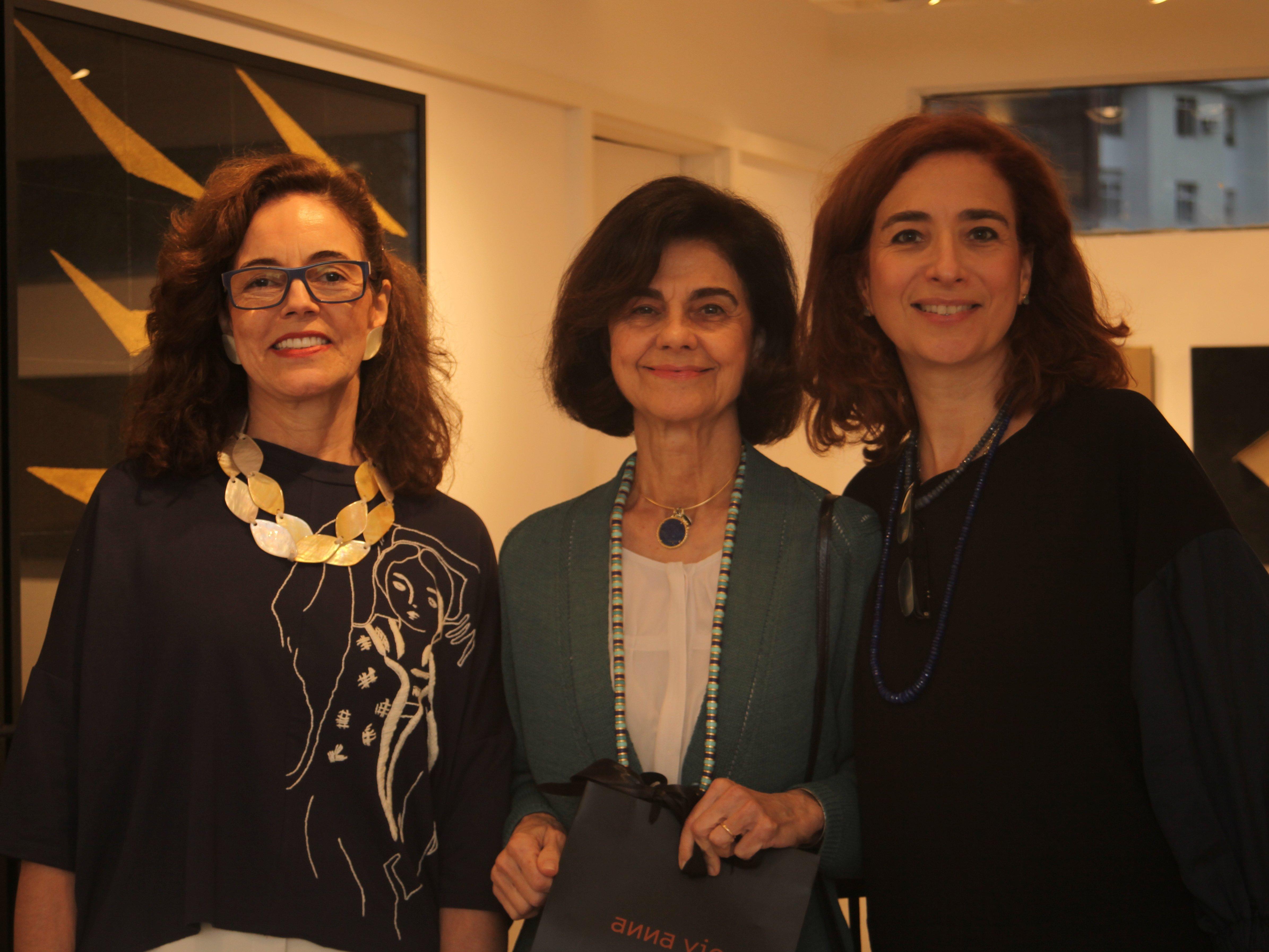 Marcia Duvivier, Maria Letícia Protassio, Anna Paola Protassio /Foto:  Karina Werner