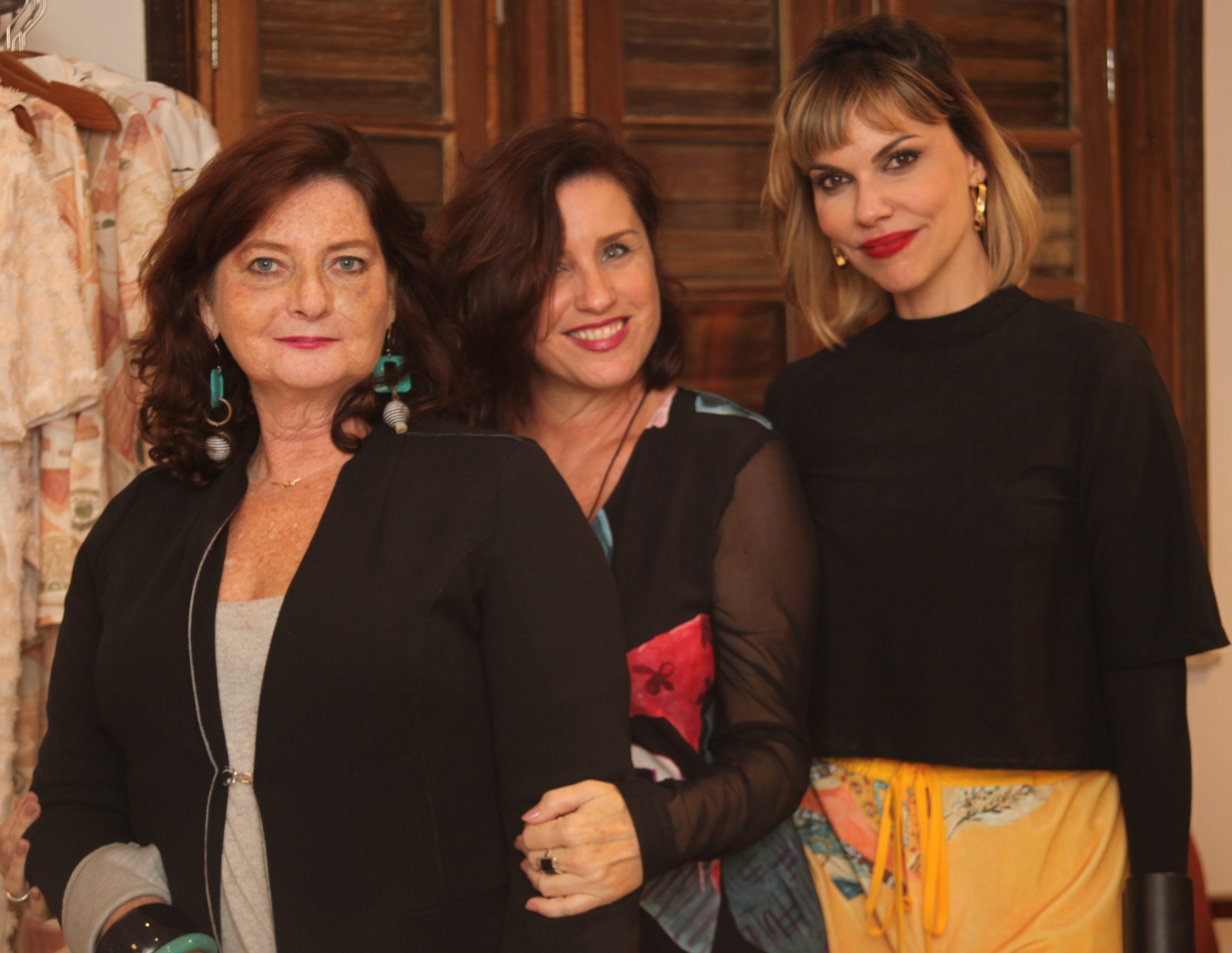 Selma Groismann, Cris Carvalho e Renata Muller /Foto:  Karina Werner