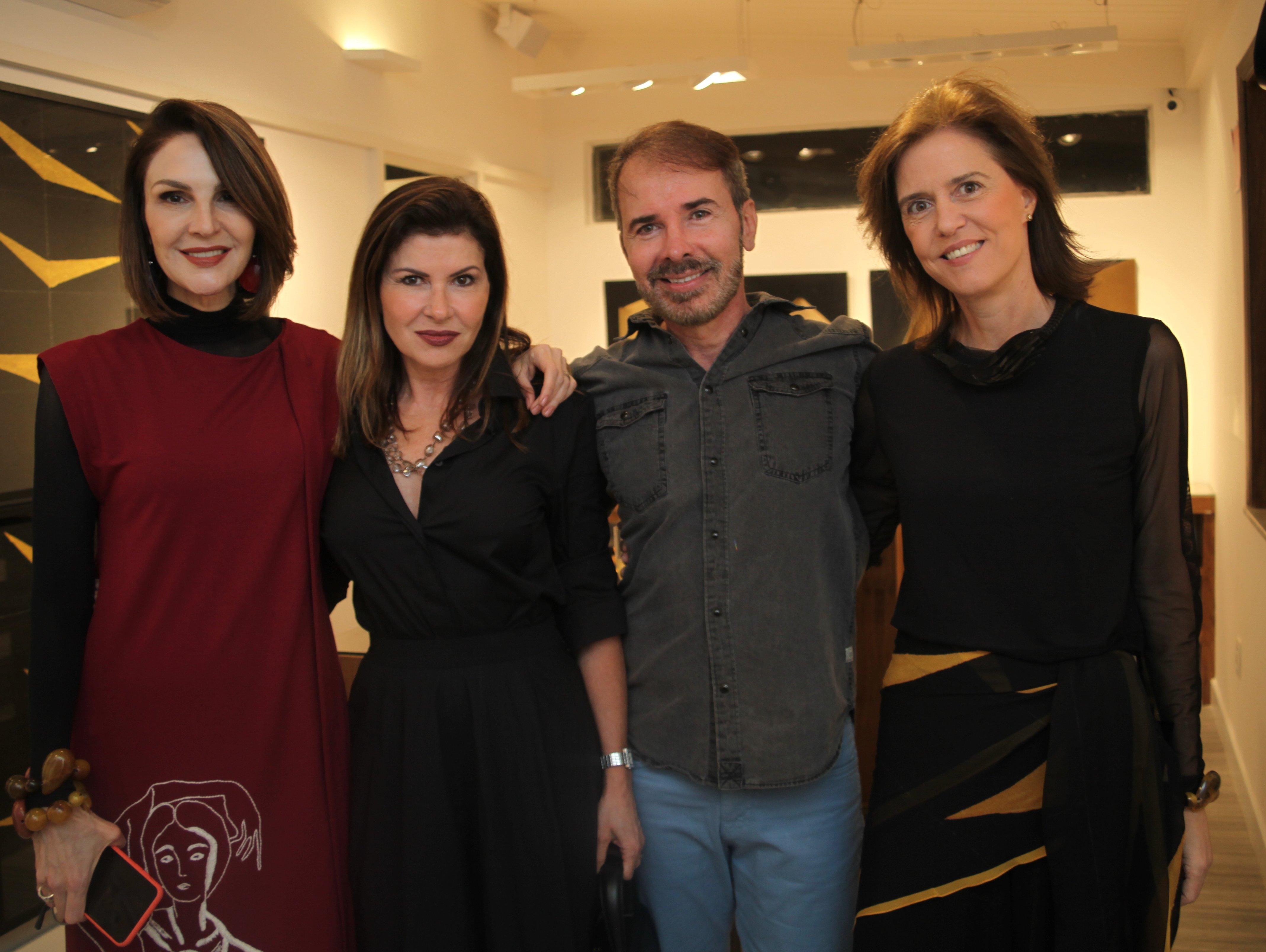 Toia Lemann, Maria Lucia Fontainha, Mauro Fontainha e Kiss Paulino /Foto:  Karina Werner