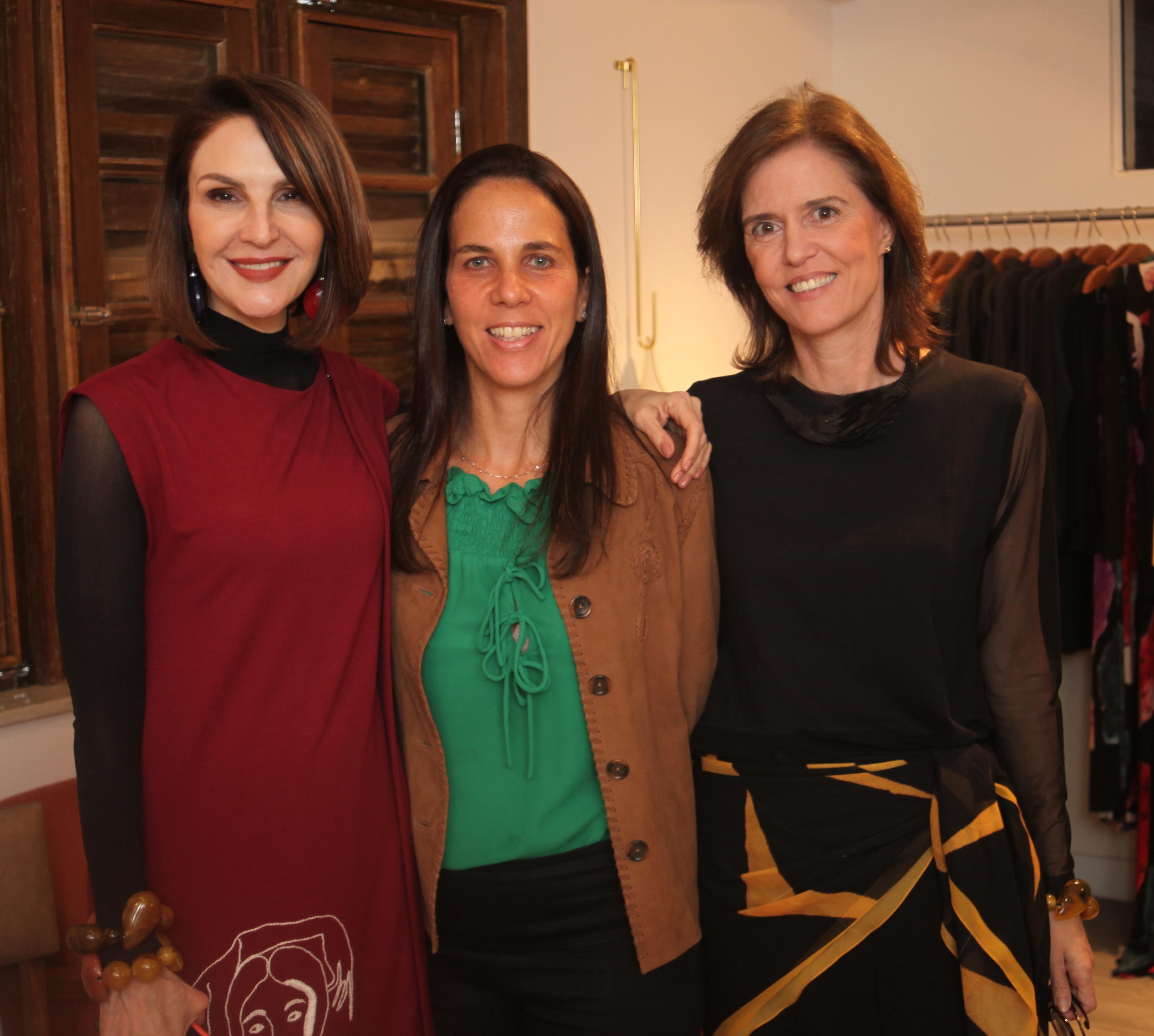 Toia Lemann, Marta Fadel e Kiss Paulino /Foto:  Karina Werner