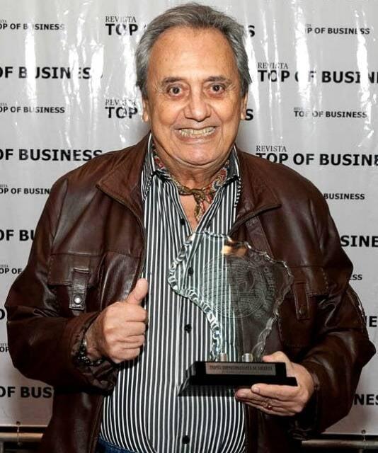 Agildo Ribeiro, premiado pelos 60 anos de carreira