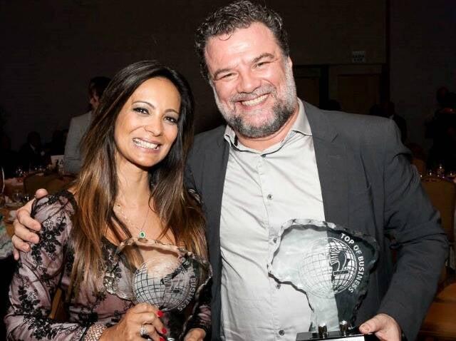 Márcia Romão e Adriano Garib