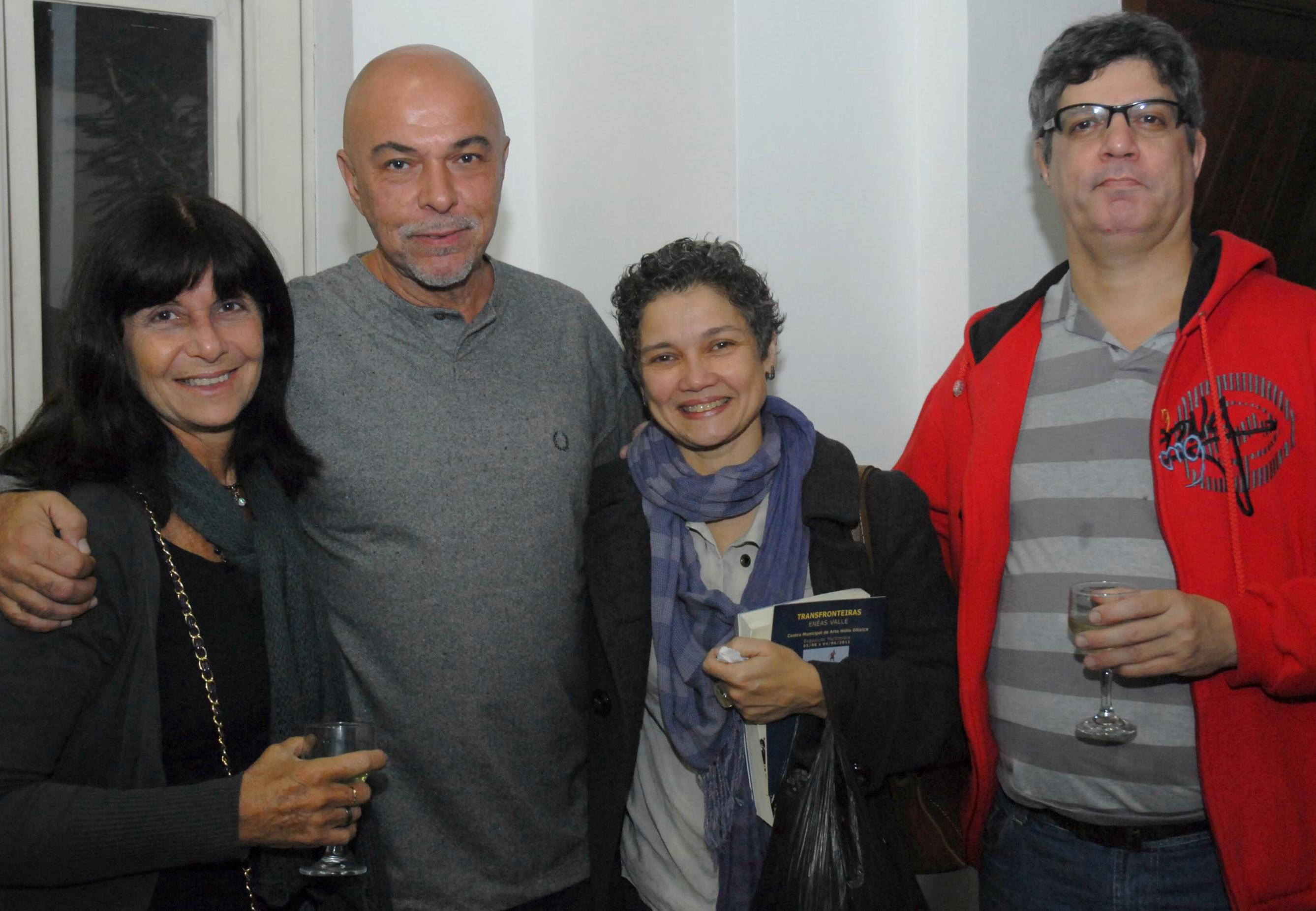 Chica Granchi, Nilton Pinho, Elisa de Magalhães e Juliano Guilherme