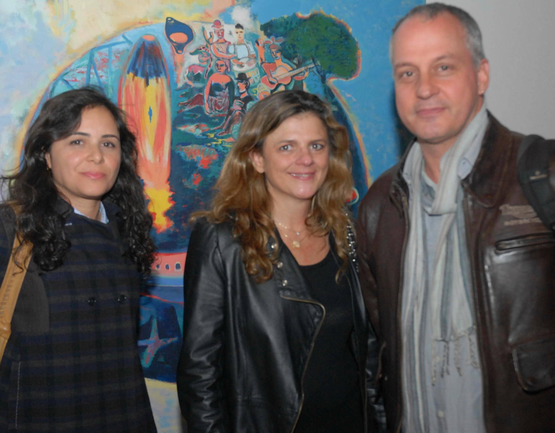 Cristina Castro, Michele Andrade e Ricardo Barros