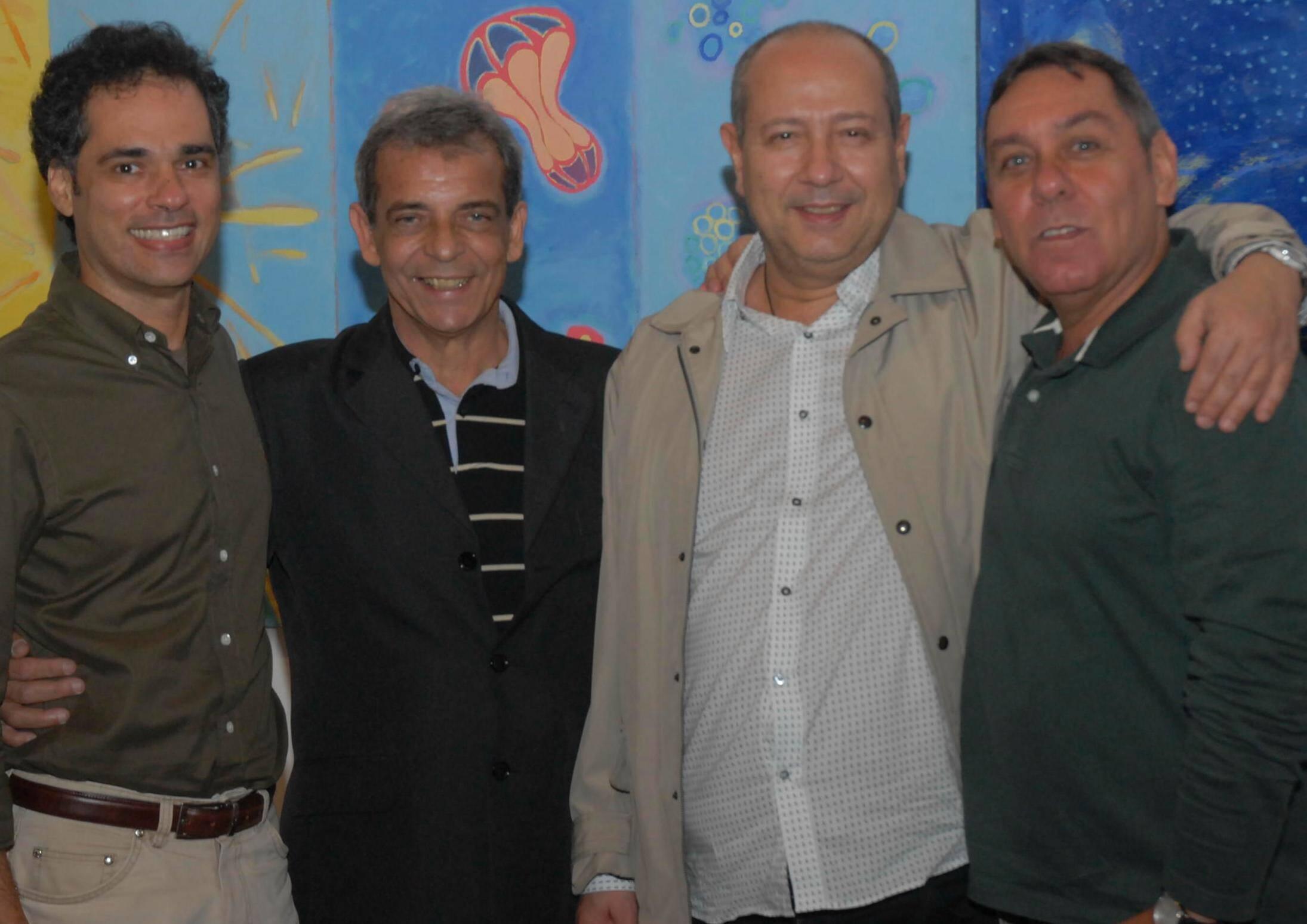 Franklin Pedrosa, Enéas Valle, Fernando Cocchiarale e Marcus Lontra