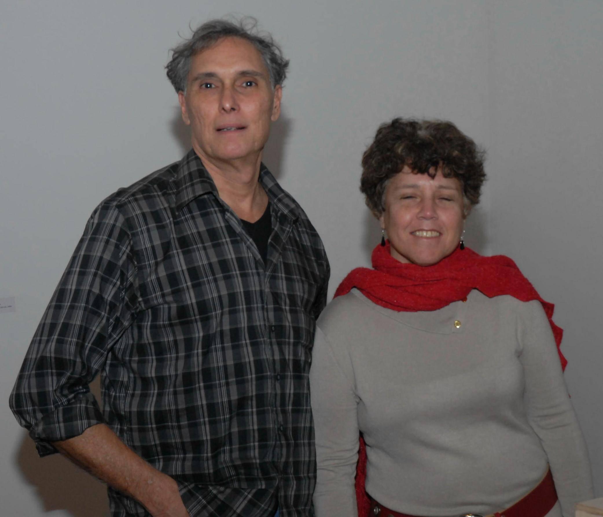 Pedro Paulo Domingues e Mônica Barreto