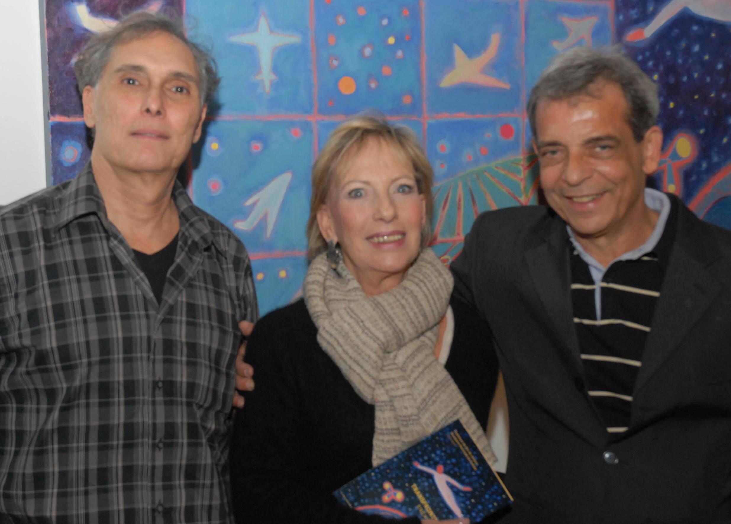 Pedro Paulo Domingues, Vera Roesler e Enéas Valle