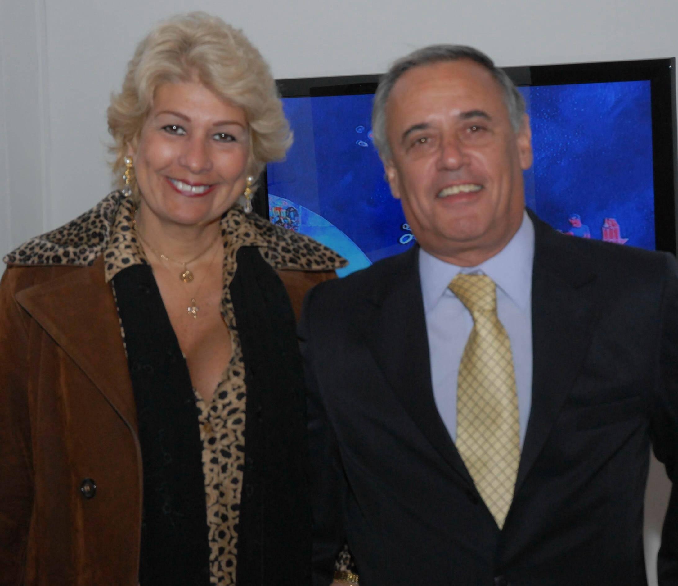 Sandra Vianna e José Manoel Avelino