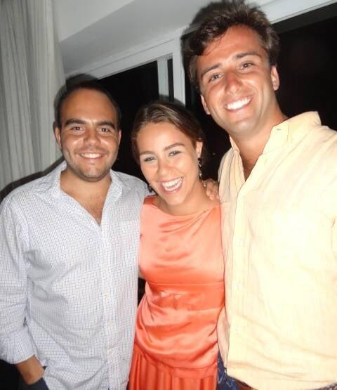 Antônio Paulo Pitanguy Müller, Catharina Johannpeter e Rafic Chartouny