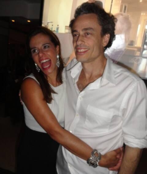 Narciza Tamborindeguy e Guilherme Fiuza