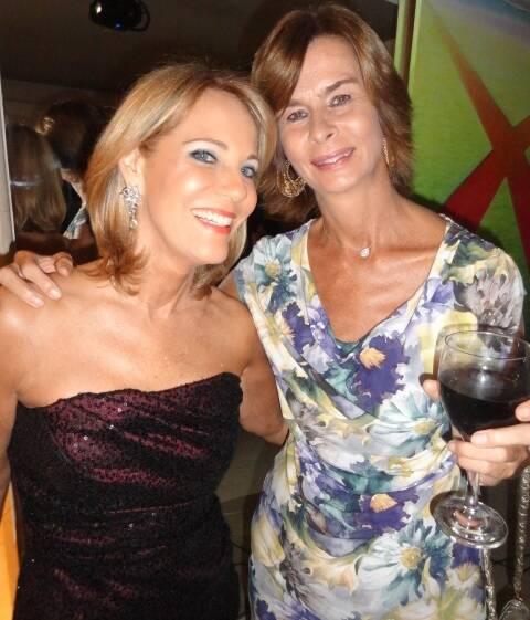 Ana de Paula e Rose de Ganay