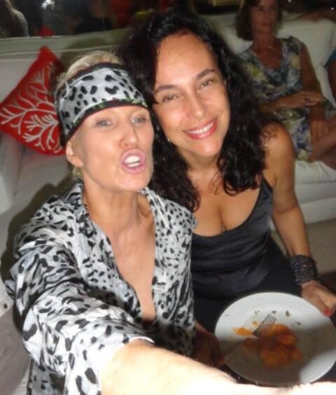 Marie Annick Mercier e Valéria Martins