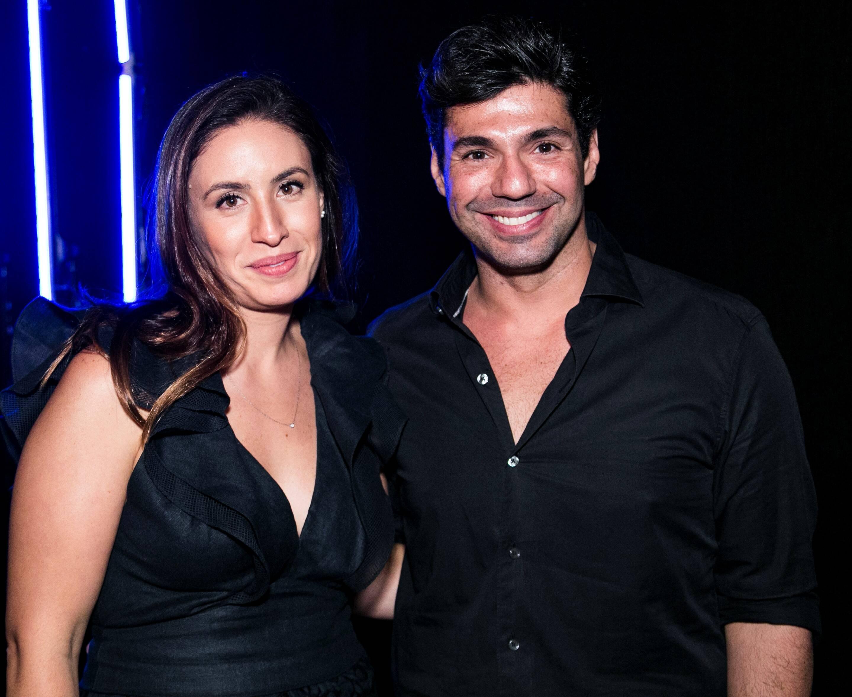 Felipe Bronze e Cecília Aldaz /Foto: Ricardo Toscani