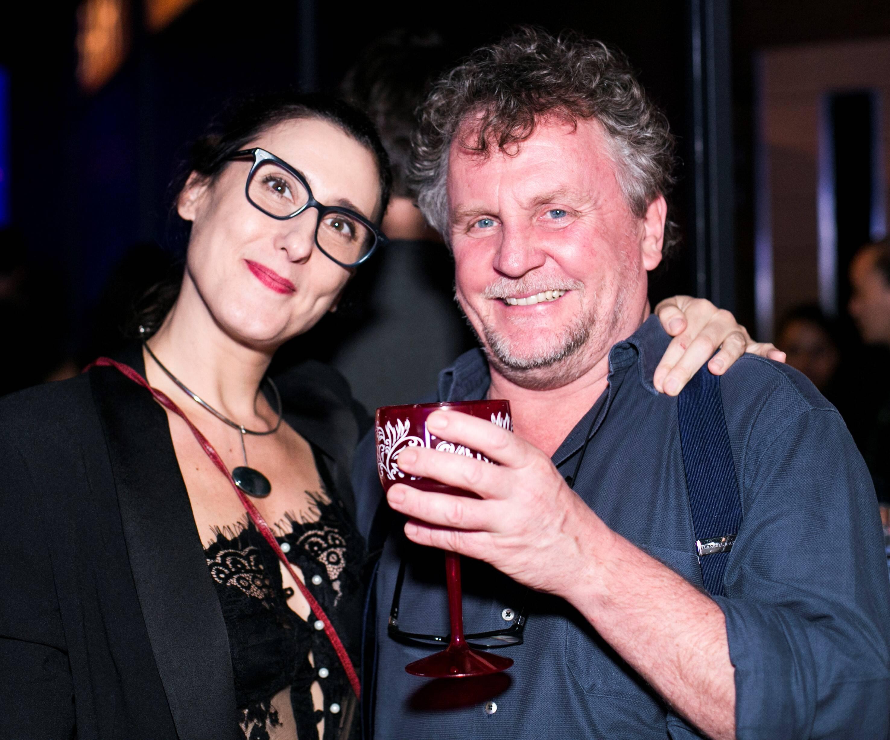 Paola Carosella e Jason Lowe /Foto: Ricardo Toscani