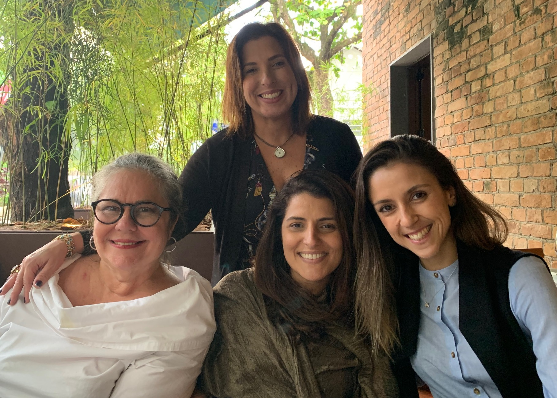 Lou Bittencourt, Renata Izaal, Maria Vargas e Malu Neves / Foto: Divulgaçâo