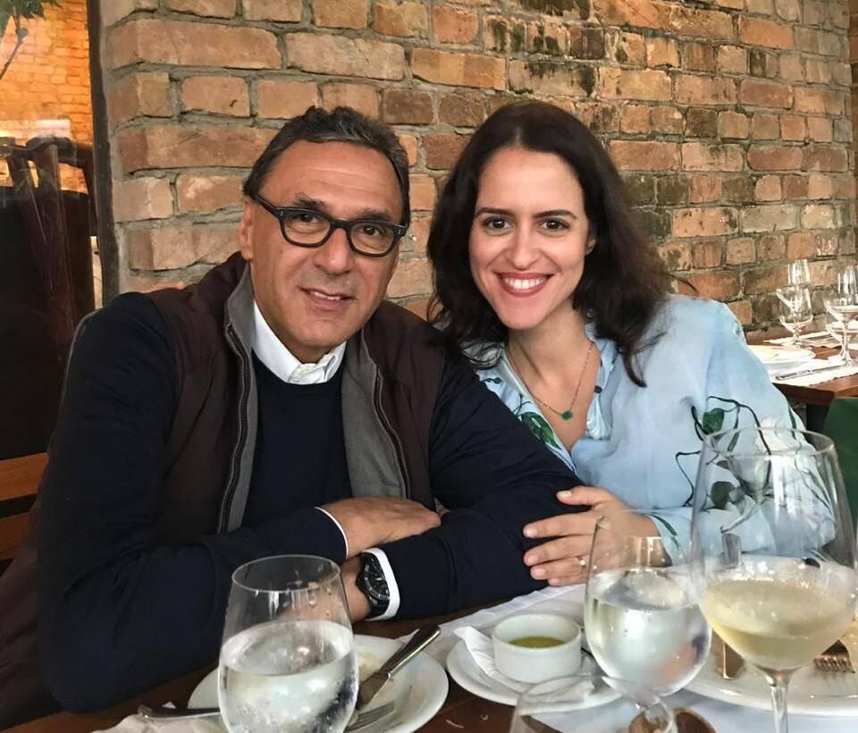 Rogerio Fasano e Paula Bezerra de Mello / Foto: Divulgação