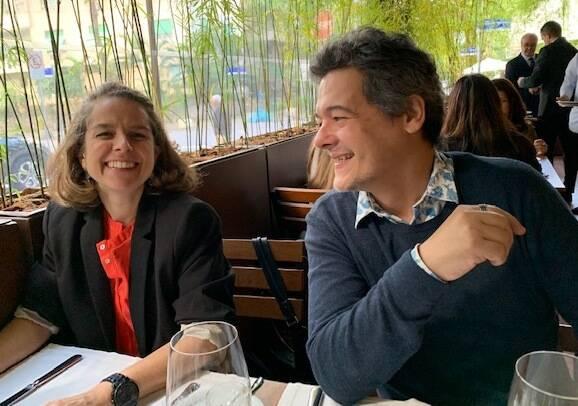Renata Chiara e Zé Márcio Alemany / Foto:  Maria Vargas
