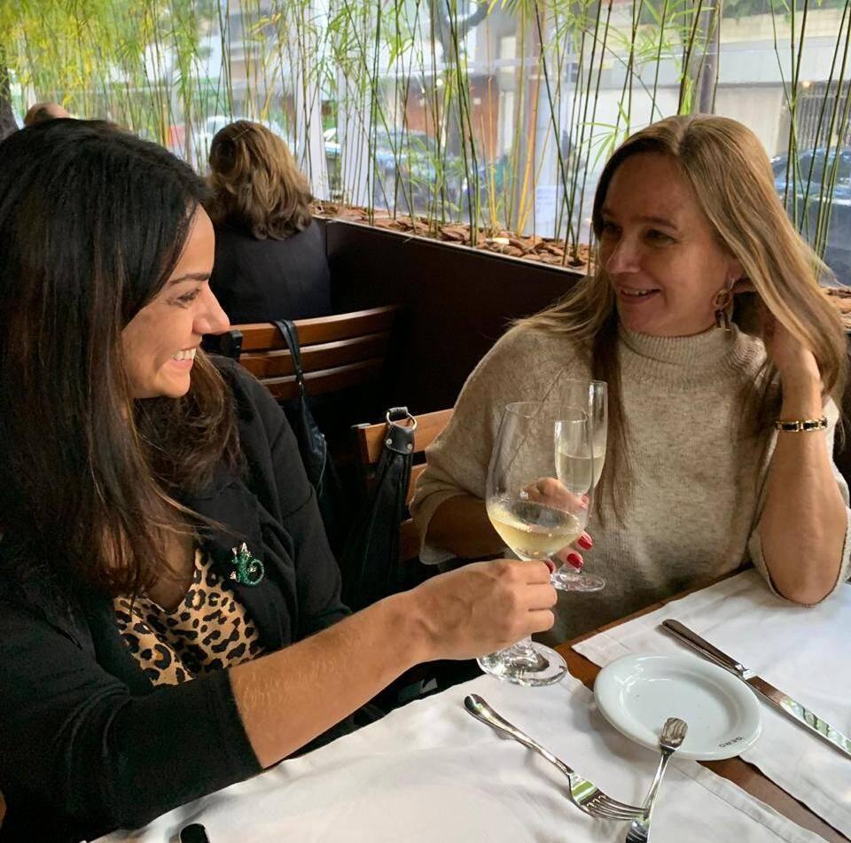 Shirley Gomes e Maria Helena Esteban/ Foto: Divulgaçâo