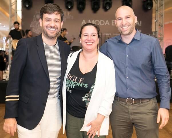 Bruno Astuto, Silvia Rogar e Gabriel Palumbo