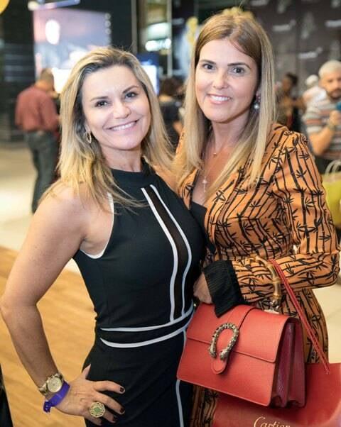 Carla Edde e Claudia Lôbo