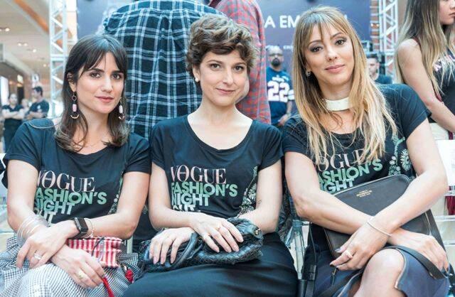 Liza Souza, Ana Carolina Ralstone e Camila Garcia