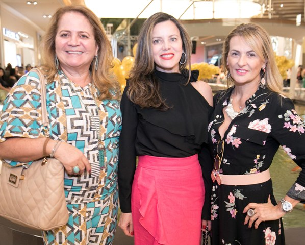 Renata Fraga, Shirley Maia e Teca Simões