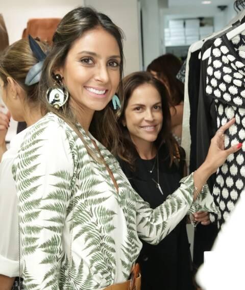 Flavia Sampaio e Mimi Coelho