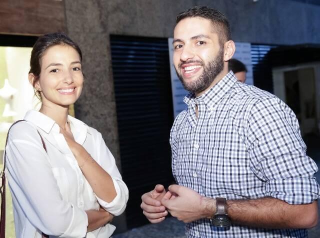Georgia Bonisson e Paulo Conegero