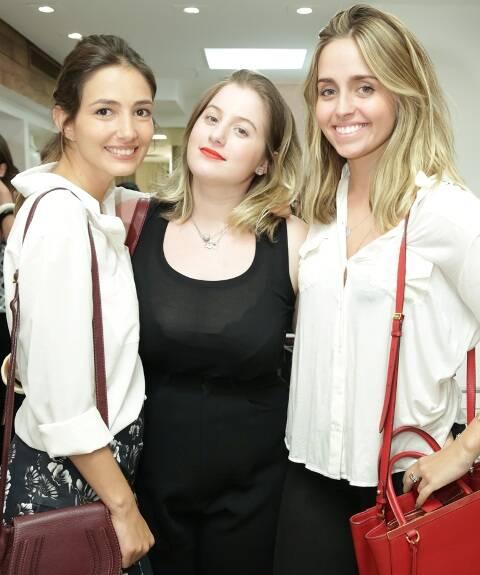 Georgia Bonisson, Patricia Geyer e Luisa Schroder