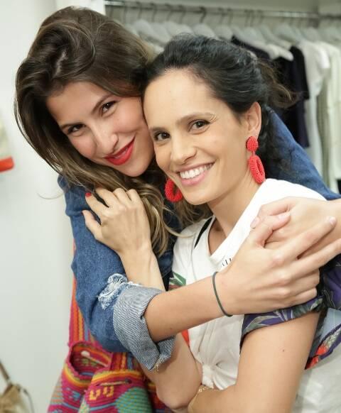 Lara D'Avila e Gisela Pecego