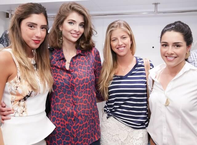 Luiza D'Angelo, Maria Frering, Carol Nolasco e Camila Cunha