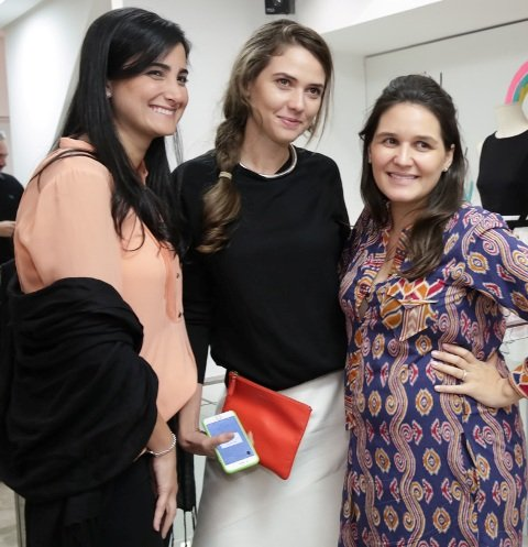 Yasmin Otoch, Giovanna Meneghel e Eduarda Mac