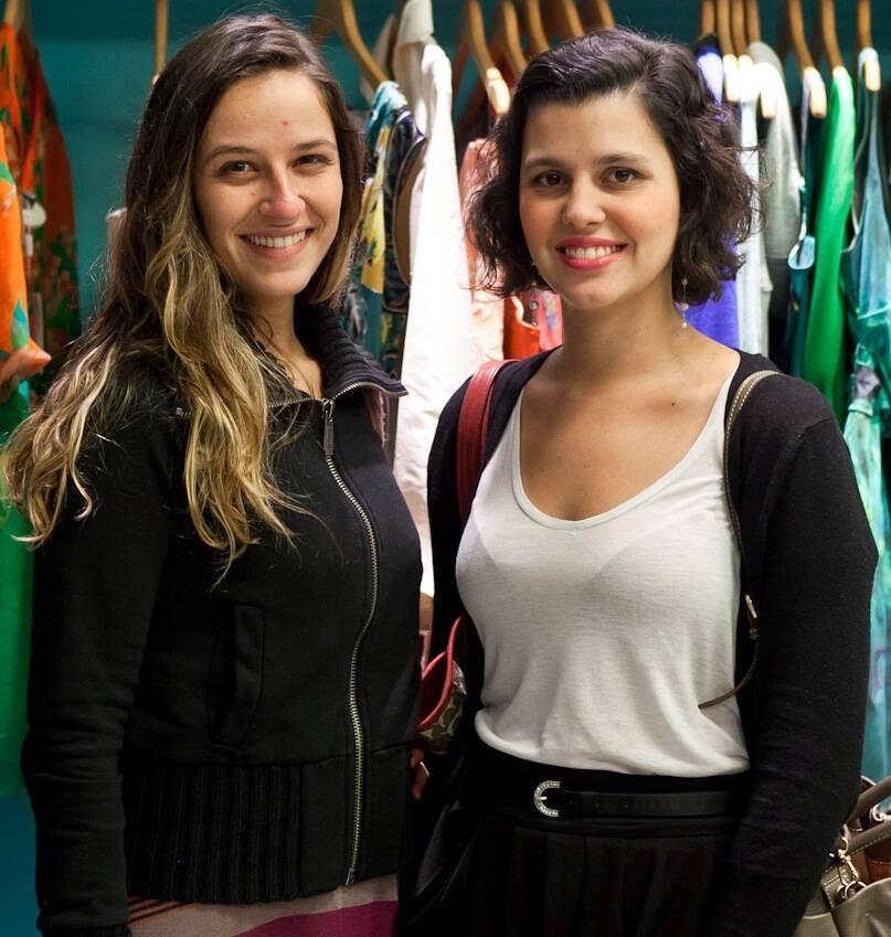 Duda Moraes e Yasmine Paranaguá