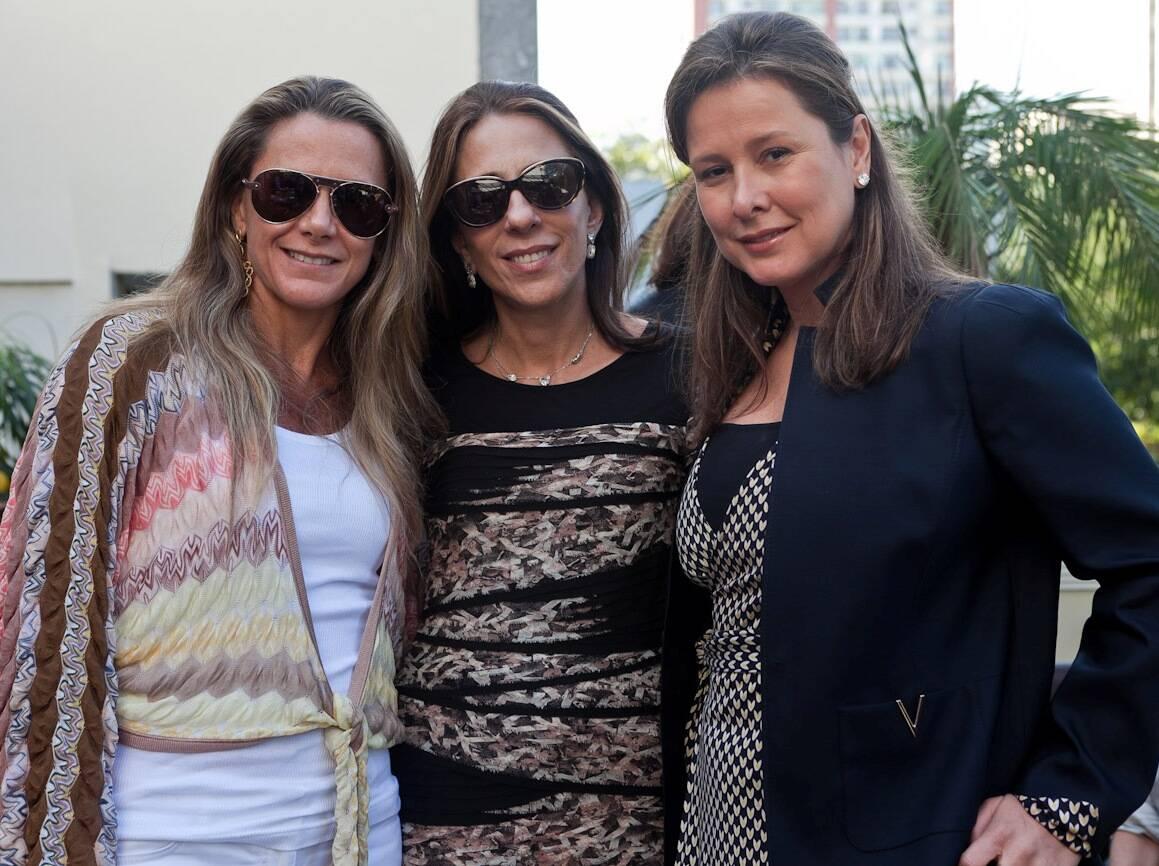 Priscilla Szaffir,  Mônica Marinho e Verônica Nieckle