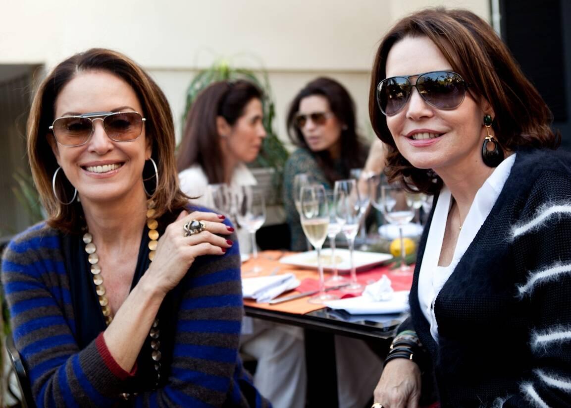 Regina Martelli e Patrícia Mayer