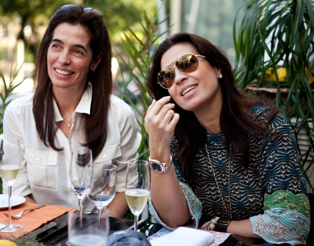 Rosane Nachbar e Cristine Ferracciu