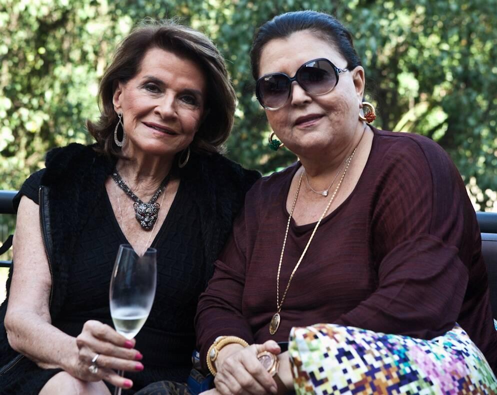 Sônia Isnard e Maria Clara Tapajós