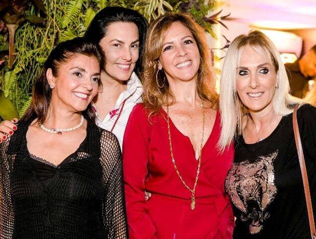 Ana Cristina Villaça, Adriana Almeida, Paula Magalhães e Shirtley Sobotka