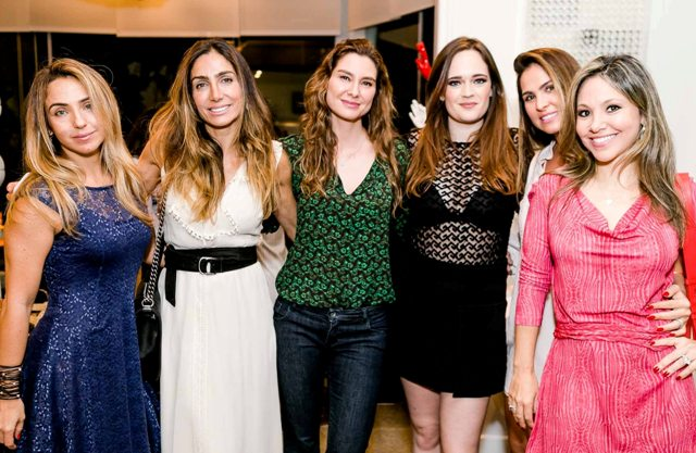 Germana Steiman, Andréa Santa Rosa, Lavínia Vlasak, Vicky Gentil, Luciana Branco e Alessandra Amaral