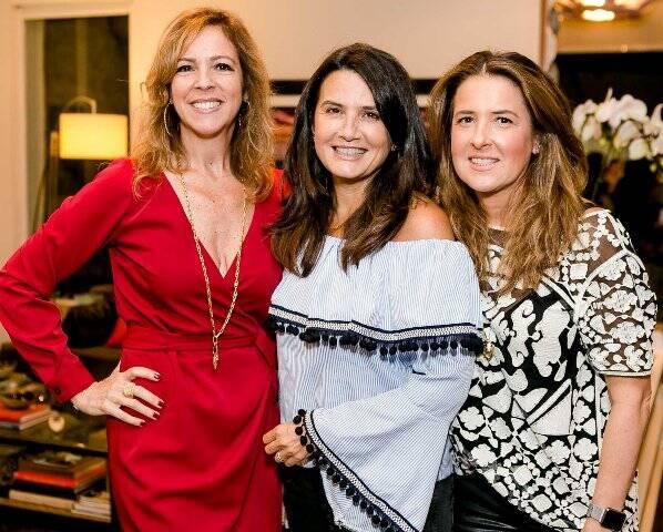 Paula Magalhães, Fernanda Chies e Denise Malta