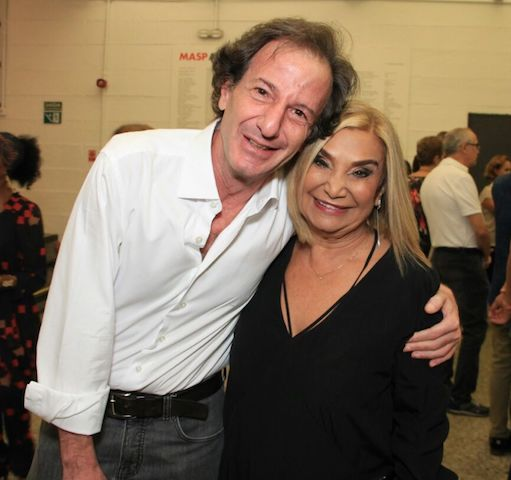 Daniel Wurzmann e Evelyn Buruque
