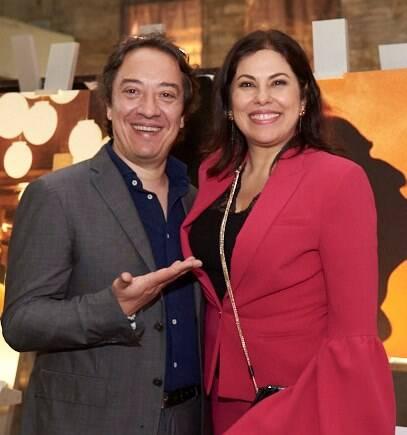 Giovanni Storaro e Cristina Marques