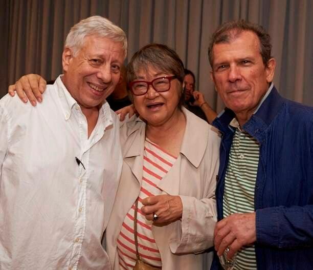 Cezar de Moraes, Tizuka Yamasaki e Bruno Stropianna