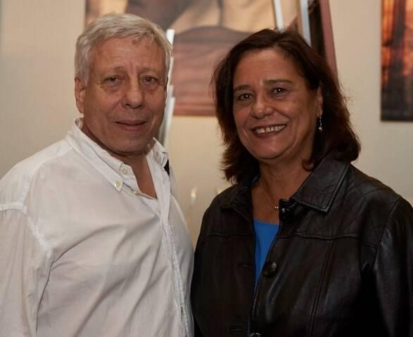 Cezar de Moraes e Ana Maria Magalhães