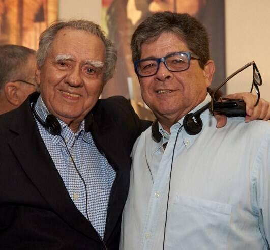 Luiz Carlos Barreto e Alberto Chateaubriand