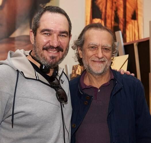 Christian de Castro e Marco Altberg