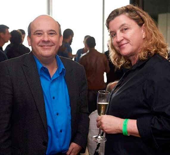 Ricardo Cota e Elisa Tolomelli