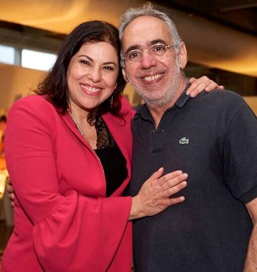Cristina Marques e Roberto Faissal