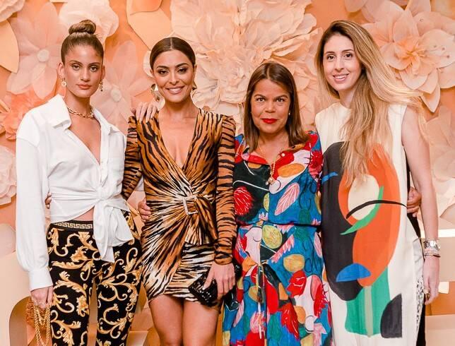 Laura Fernandez, Juliana Paes, Daniela Falcão e Paula Merlo /Foto: Bruno Ryfer