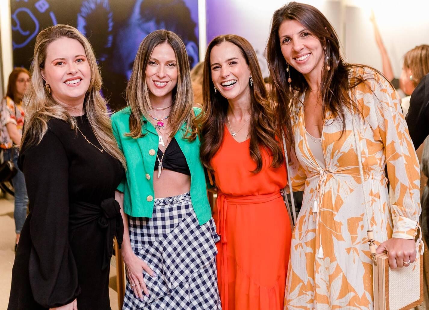 Mari Bridi, Anny Meisler, Joana Nolasco e Nathalia Lima /Foto: Bruno Ryfer